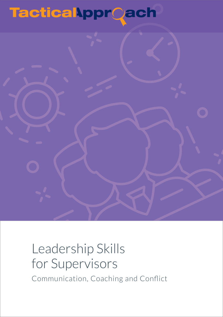 Leadership Skills for Supervisors: Communication, Coaching, and Conflict