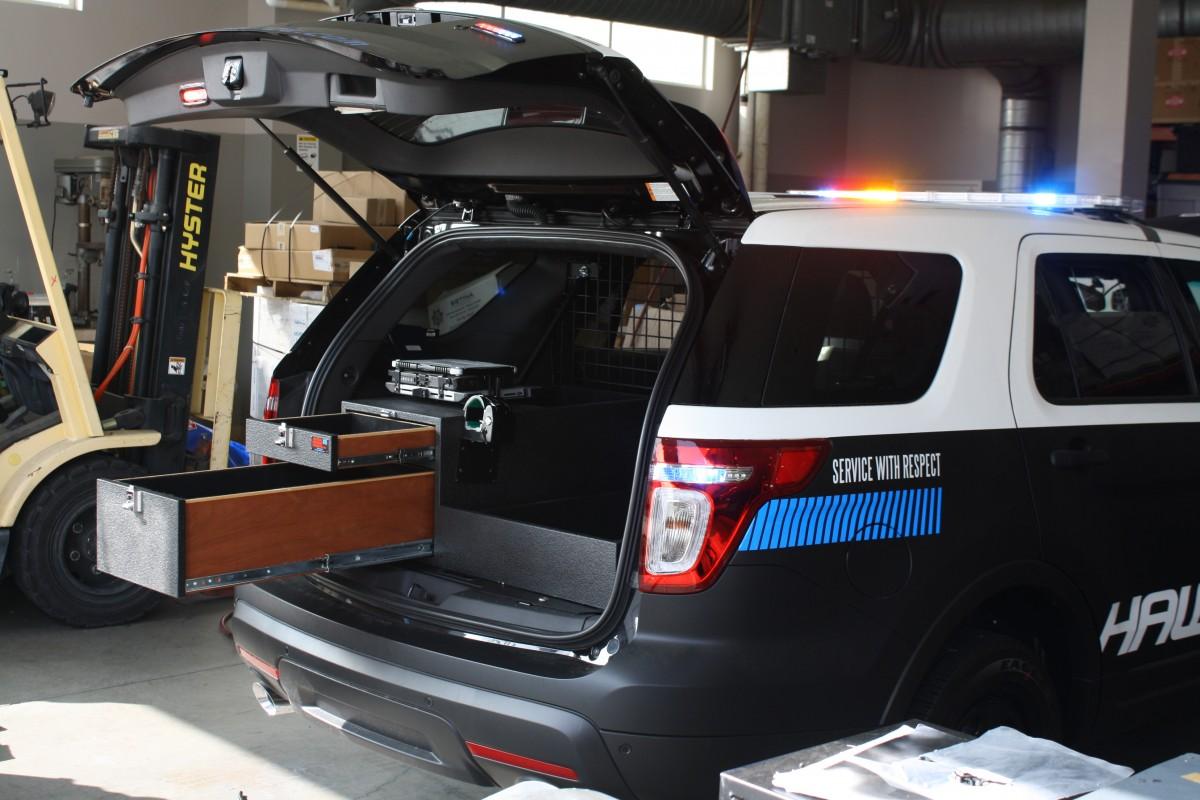 Ford Explorer Police Interceptor Storage Solutions