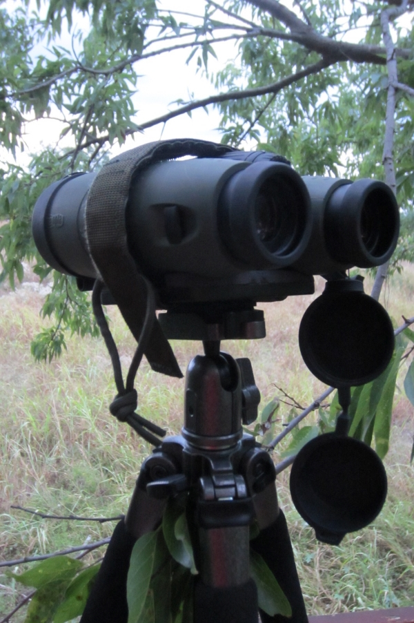 PRS Rifle Tripod with Binocular plate option with Meopta HD 10x42