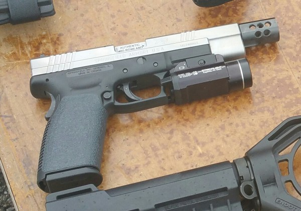 The XD with Genuine Rowland Conversion.