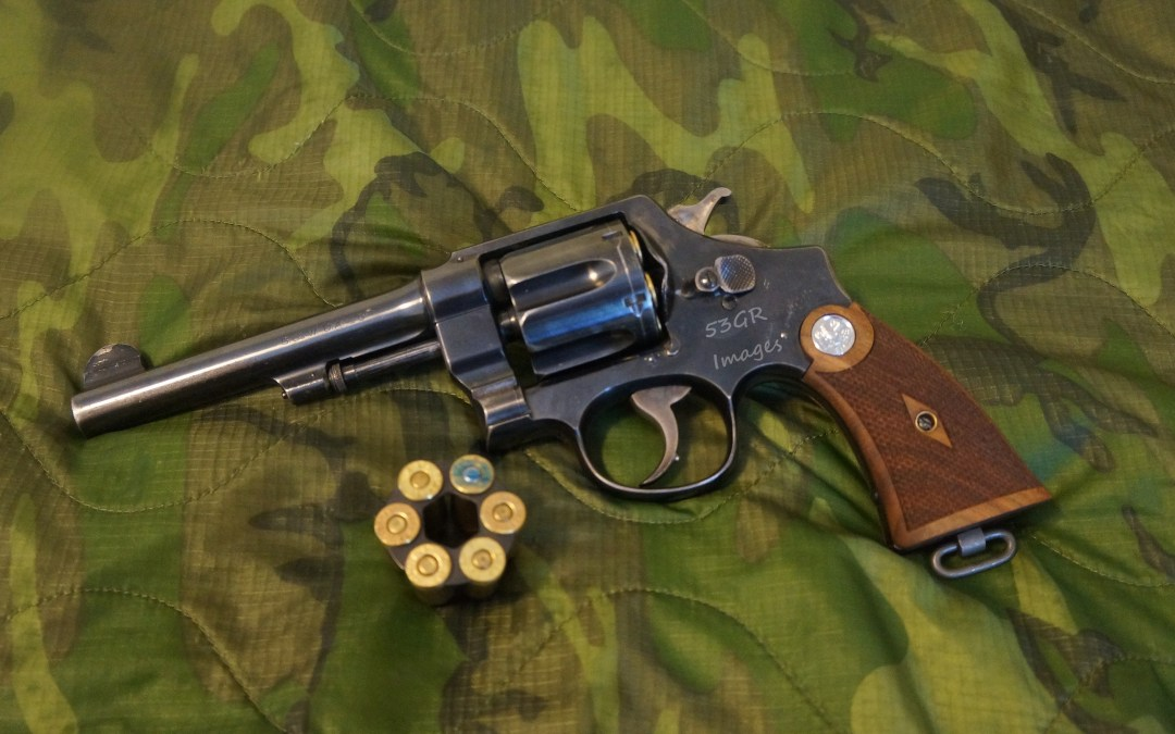 Smith and Wesson M1917 Revolver