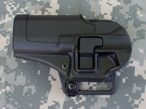 GLOCK 22 HOLSTER - BLACKHAWK CQC SERPA PICTURE