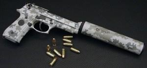 TACTICAL ARMZ SUPPRESSED BERETTA 92