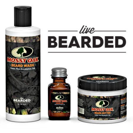 Beard Grooming: Mossy Oak Collection from Live Bearded.