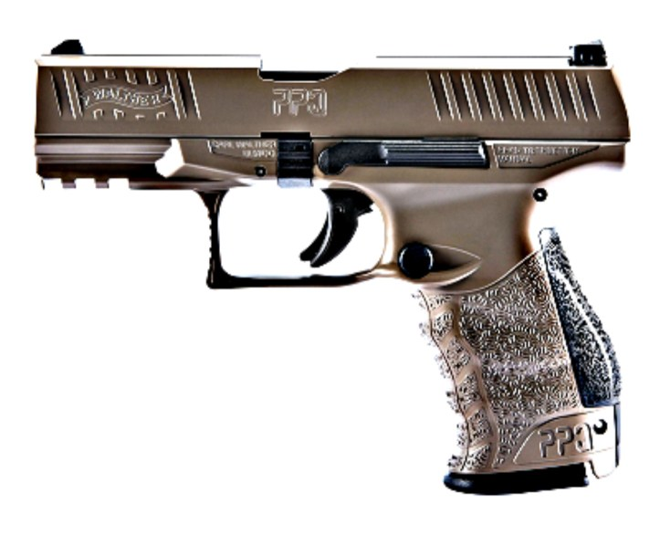Walther PPQ in Coyote Tan