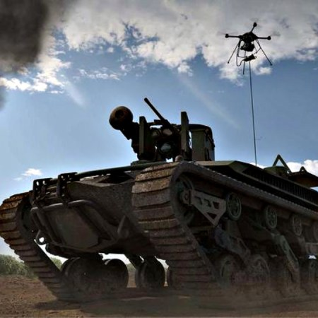 Ripsaw M5 is a robotic tank designed to operate as 'wingman' alongside U.S. Army tanks and armored vehicles.