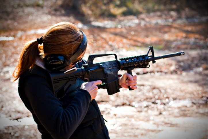 AR-15 for Women. Many acknowledge the AR-15 as a good home defense weapon for women.