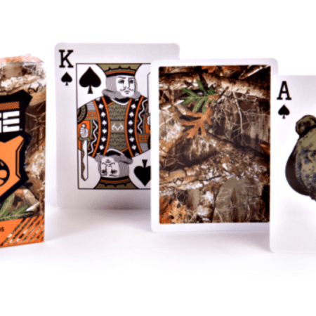 camo playing cards from Realtree Edge.