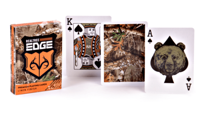 These camo playing cards look like a great gift for the hunting enthusiasts in our lives.