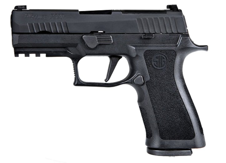 The P320 pistol is a modular, striker-fired pistol, available in full-size, carry, compact, and subcompact sizing. The serialized trigger group makes the P320 adjustable to multiple calibers, size, and grip options.