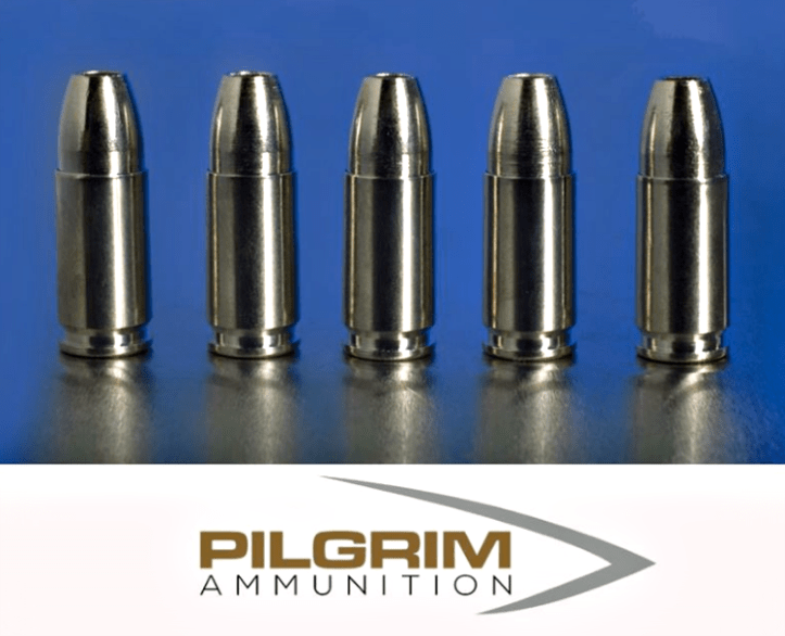 Pilgrim says their self defense ammo offers: less felt recoil + reduced carry weight = a more accurate shot every time.