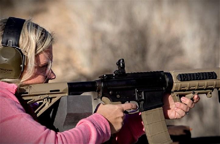 AR-15 for women, self defense.