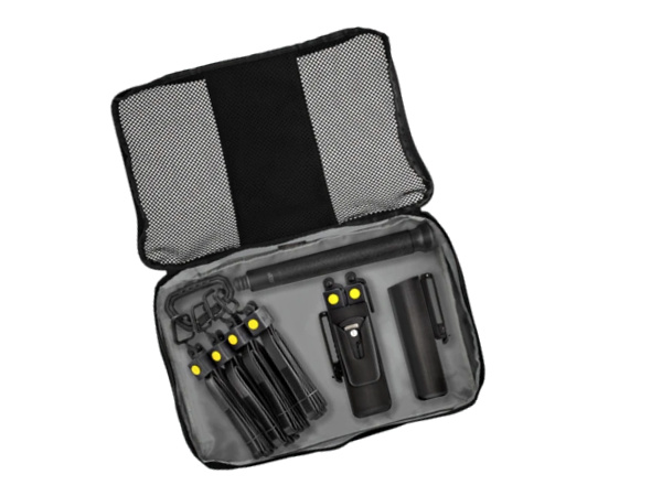 The Tactical Response Kit simultaneously addresses surface-borne pathogens and crowd control.