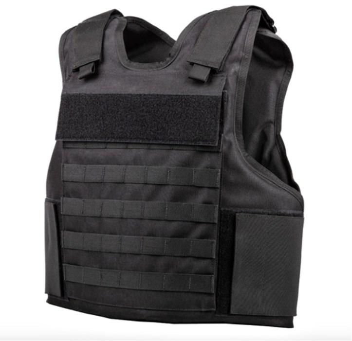 Spartan Armor Systems Tactical Level IIIA wraparound vest