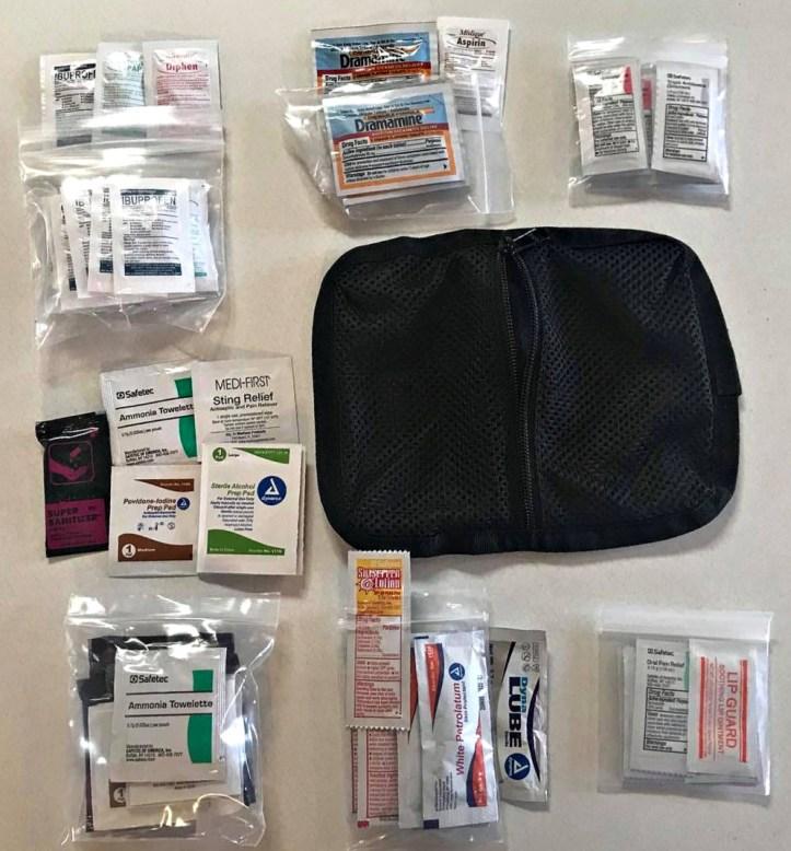 MyMedic MyFAK Large OTC medications pouch.