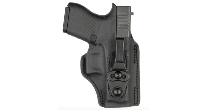Model 17T tuckable IWB holster that is compatible with Taurus GX4