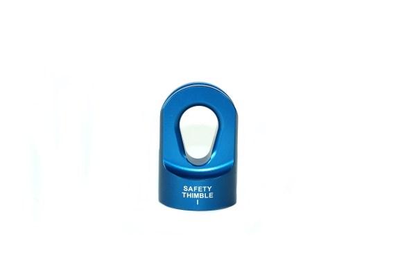 Safety Thimble I - Blue Back