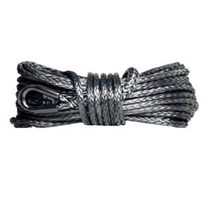 "1/4"" Black Winch Rope"