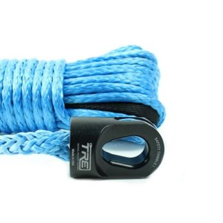 "1/4"" Blue Winch Rope & Safety Thimble"