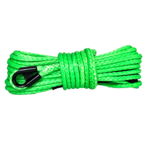 "1/4"" Lime Green Winch Rope"