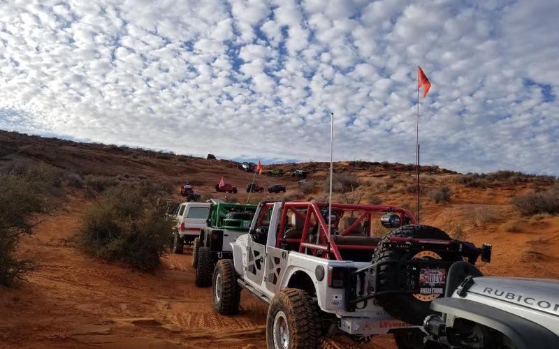 TRE Day Two Winter 4x4 Jamboree 2018