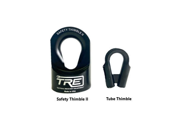Safety Thimble vs Tube Thimble