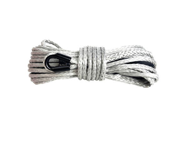 """3/8"""" Silver Winch Rope - 20,000 lb. Breaking Strength 