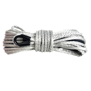 "3/8"" Silver Winch Rope - 20,000 lb. Breaking Strength 