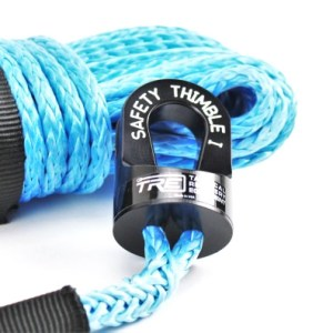 Synthetic Winch Rope - 1/4 in., 3/8 in. & 7/16 in. for Jeep, Truck ATV and UTV WInches