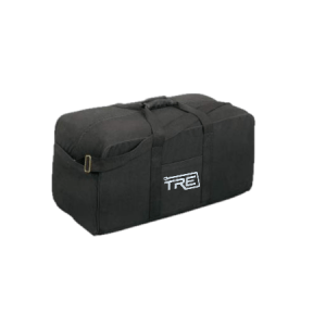 TRE X-Large Black Canvas Duffel Bag