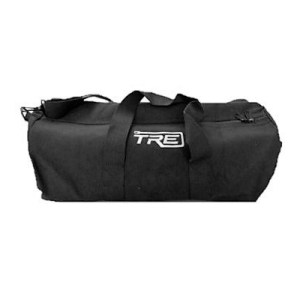 TRE Large Black Canvas Duffel Bag