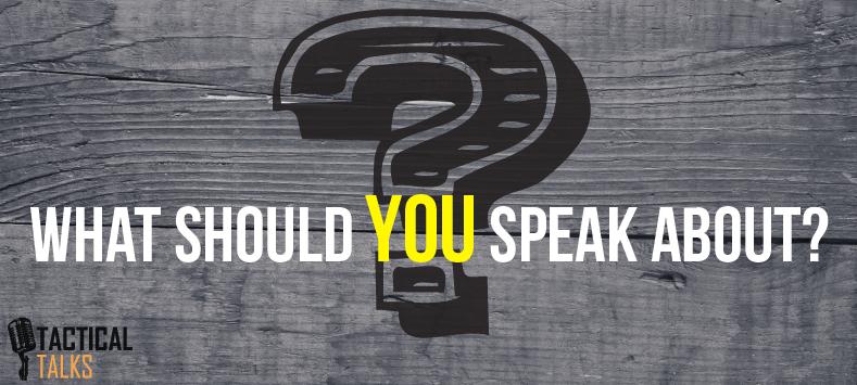 public speaking - speech topics