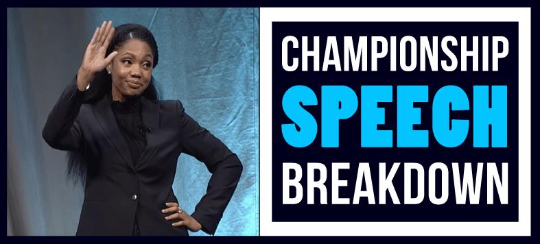 ramona j smith toastmasters public speaking contest 2018 champion breakdown tactical talks matt kramer