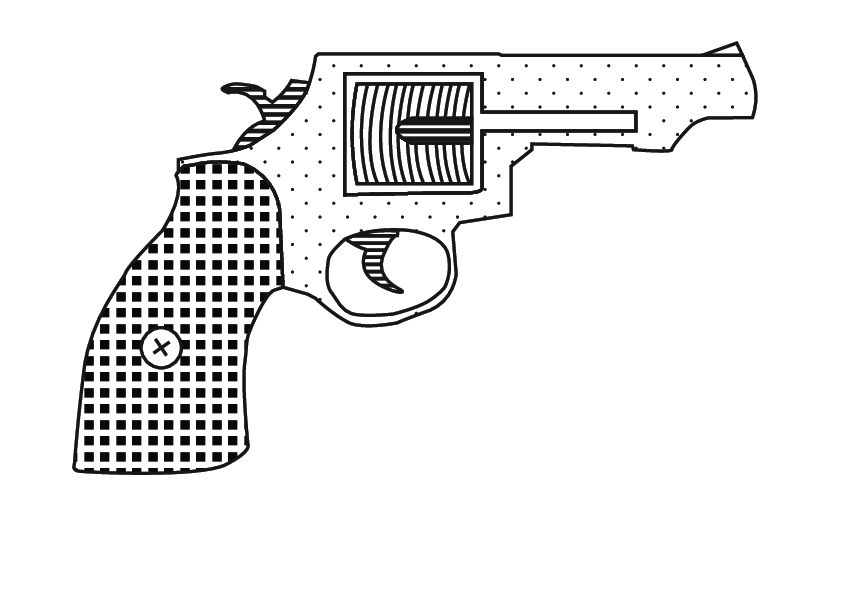 Revolver Smith and Wesson