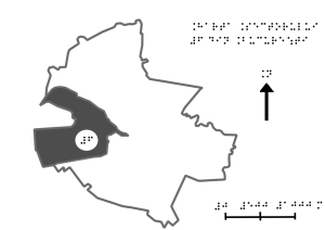 map of the sixth district of bucharest