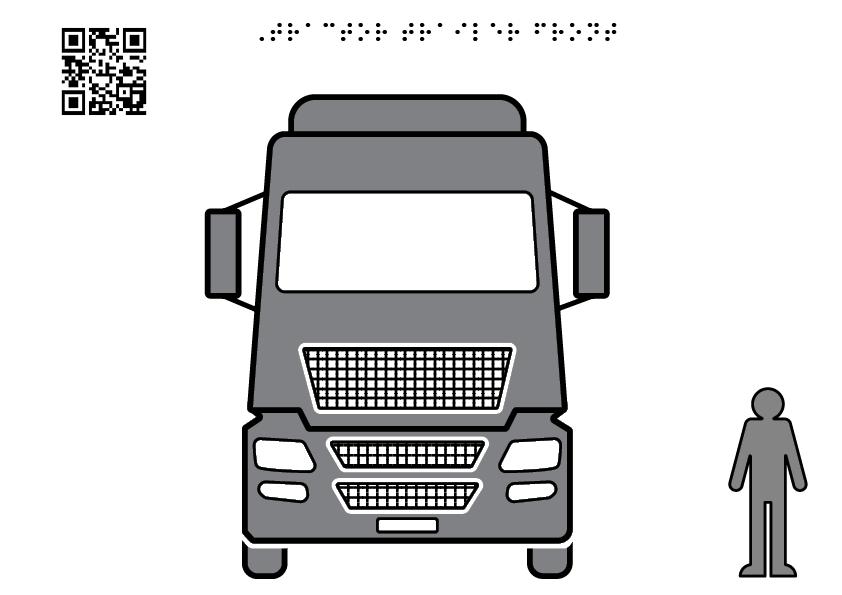 Truck facade