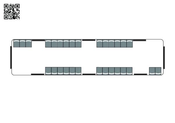 Metrou vagon – plan aerian