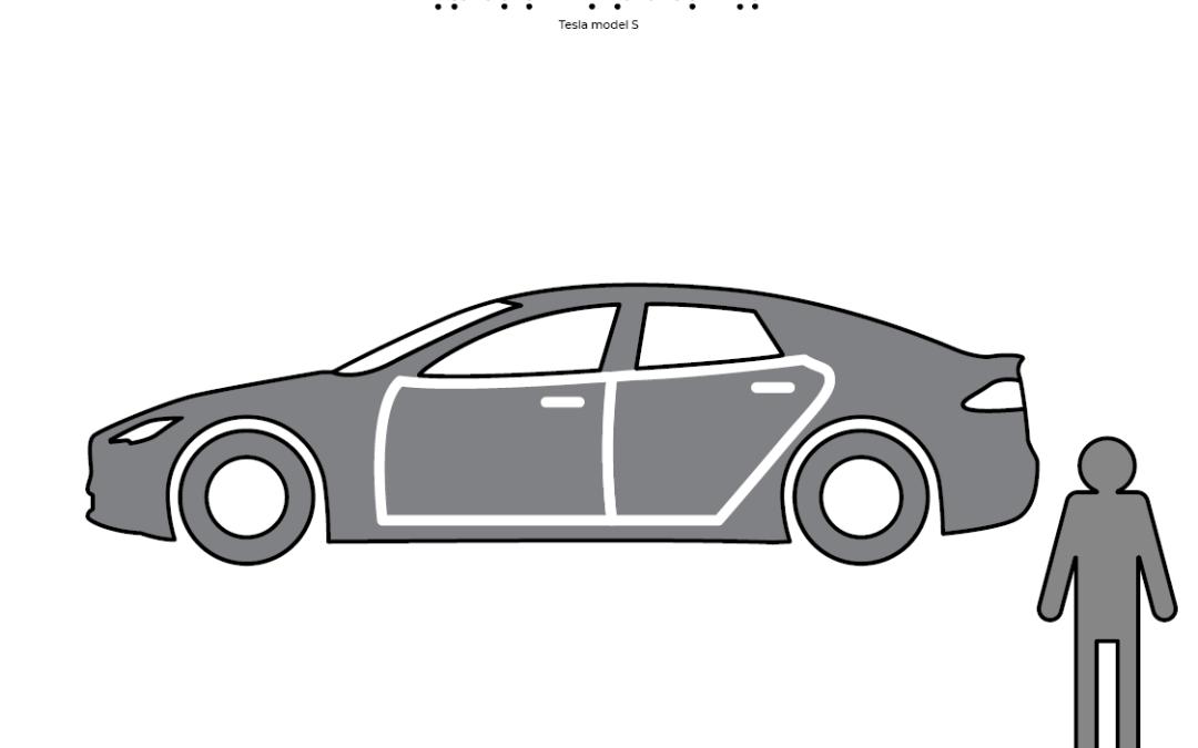 Mașina Tesla Model S