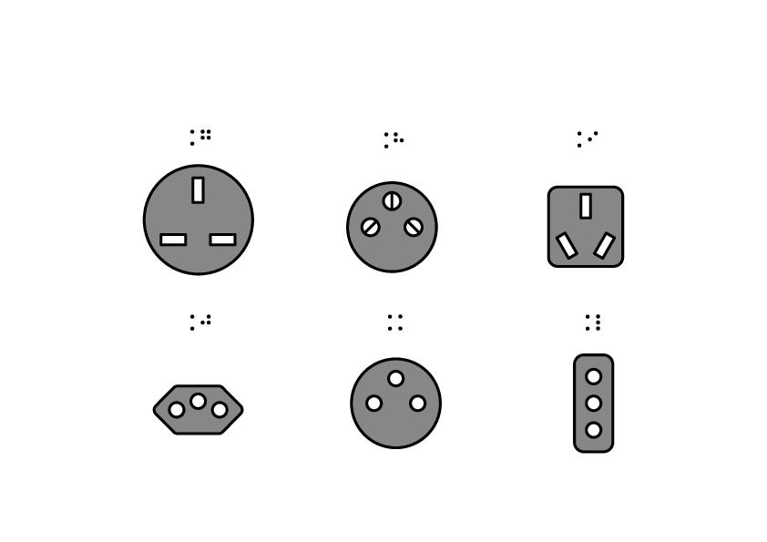Tipuri de priză G-L