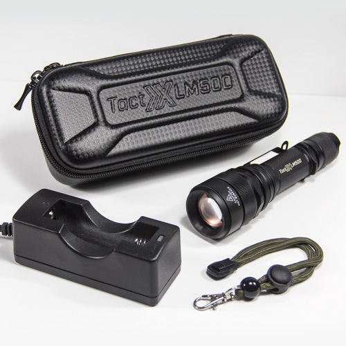 LM500 Power Kit C - Includes Outboard 18650 Charger and NO Battery - perfect for limited budgets