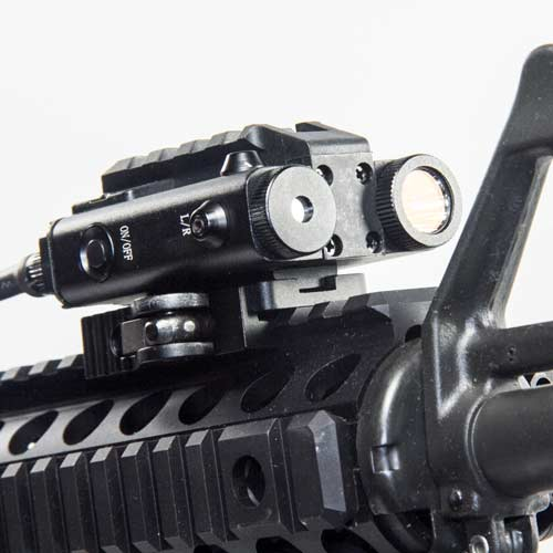 Rgl Dual Green Laser Targeting System With 300 Lumens
