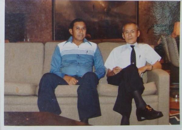 祖父とダトウヤシン (2)