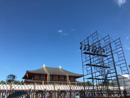 興福寺中金堂落慶慶讃茶会備忘録・・お茶会の準備・はじまり・