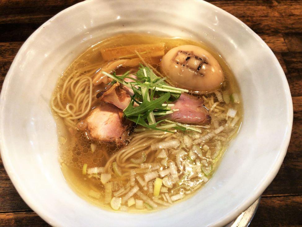 麺屋 卓朗商店「塩くん玉らぁ麺」