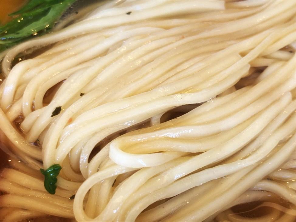 らぁ麺 めん奏心「完熟トマトの汐そば」麺