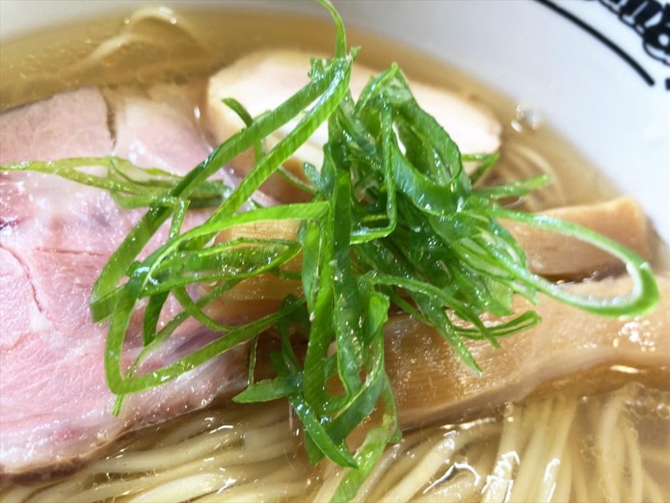 麺屋 菜花奈「魚貝潮」青ネギ