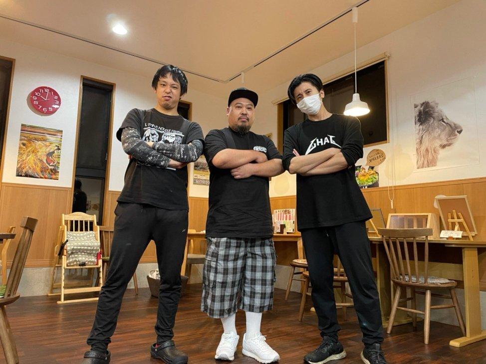 麺屋AMORE×BOMB Kitchen×SPICE CURRY GHAL