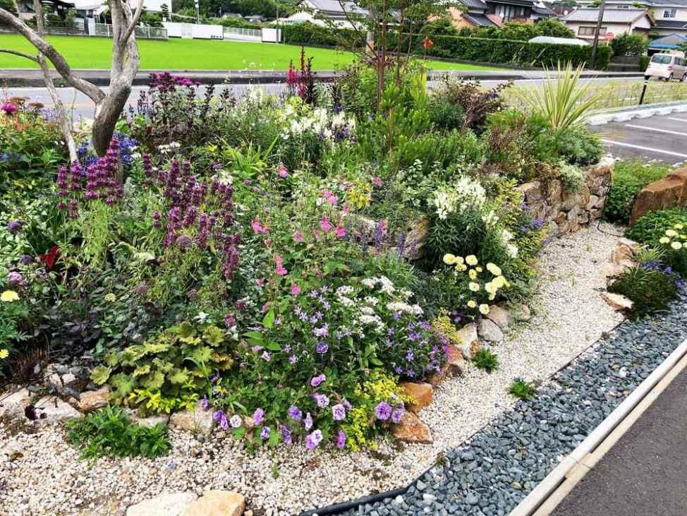茶の庭の庭