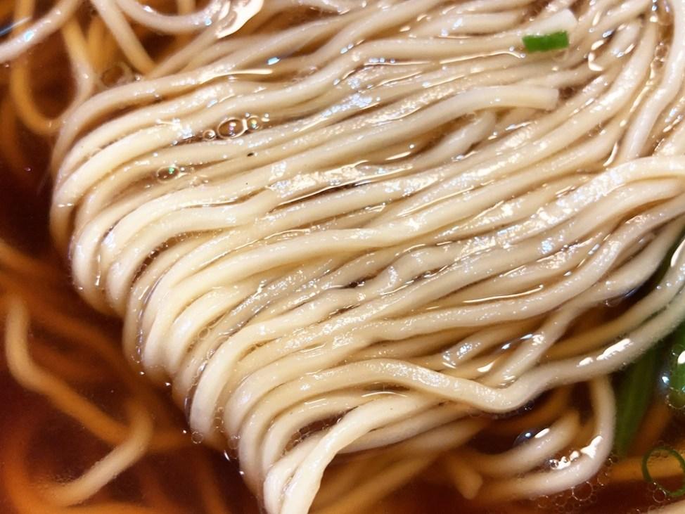 麺や ほりかわ「遠州熟成中華そば」麺