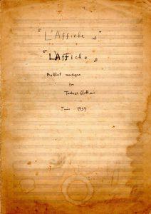 Laffiche0表紙
